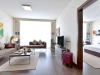 One bed room apartment – living room
