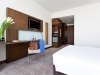 Novotel room Double bed